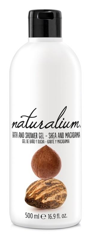 Naturalium Nuts Shea and Macadamia regenerujący żel pod prysznic