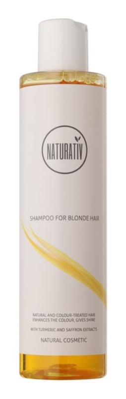 Naturativ Hair Care Blond fény- és hajszínélénkítő sampon