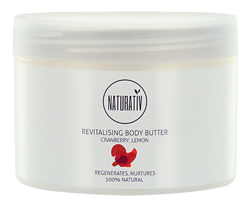Naturativ Body Care Revitalising Body Butter With Moisturizing Effect