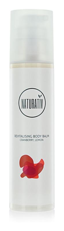 Naturativ Body Care Revitalising bálsamo corporal con efecto hidratante para dar elasticidad a la piel