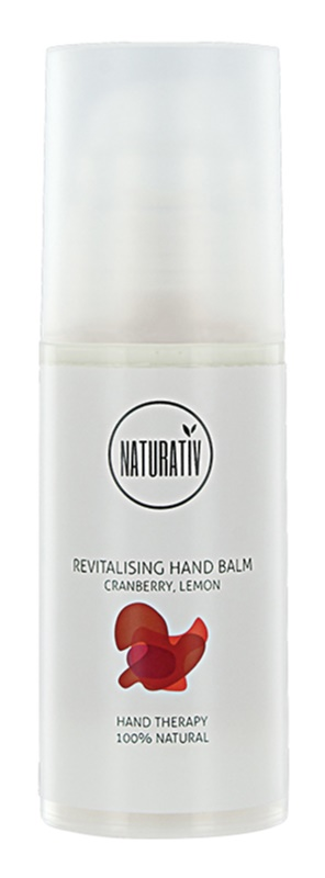 Naturativ Body Care Revitalising Moisturising Hand Balm For Dry And Irritated Skin