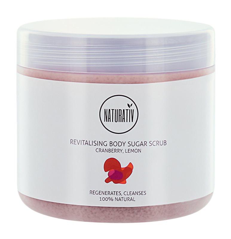 Naturativ Body Care Revitalising Zucker-Peeling für den Körper