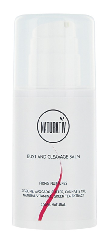Naturativ Body Care Beautiful Bust Firming Balm For Décolleté And Bust