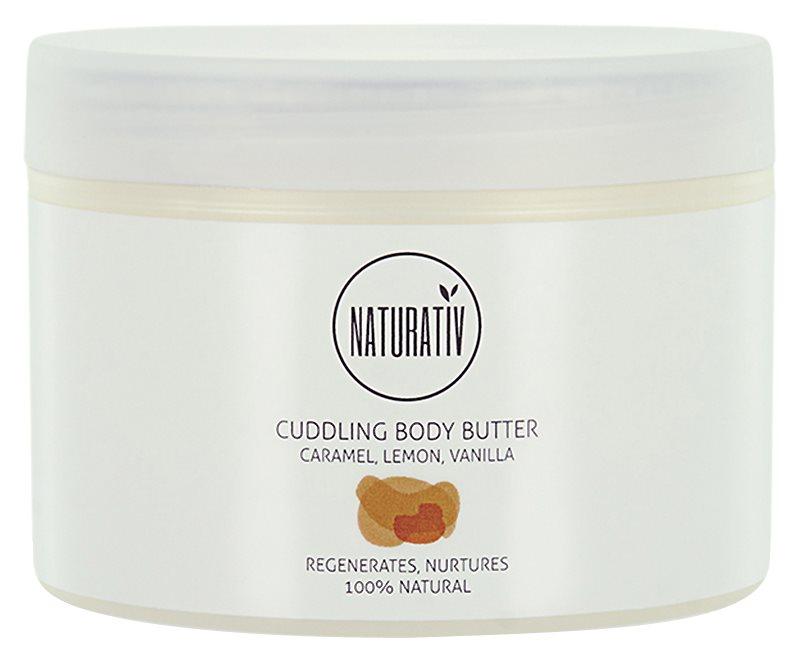 Naturativ Body Care Cuddling manteiga corporal  com efeito regenerador