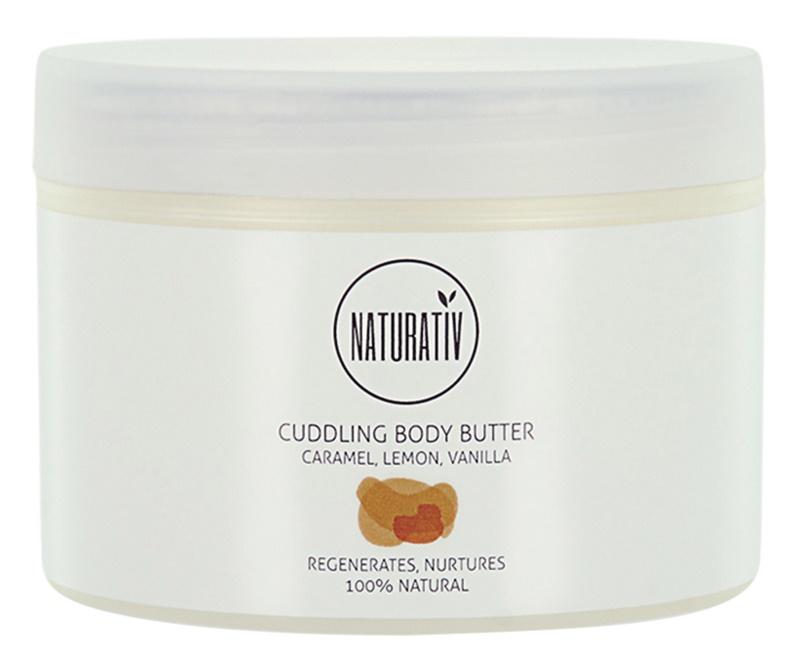 Naturativ Body Care Cuddling masło do ciała o działaniu regenerującym