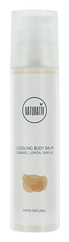 Naturativ Body Care Cuddling bálsamo hidratante de corpo para pele fina e lisa