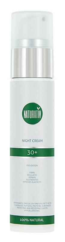 Naturativ Face Care 30+ creme de noite contra os primeiros sinais de envelhecimento