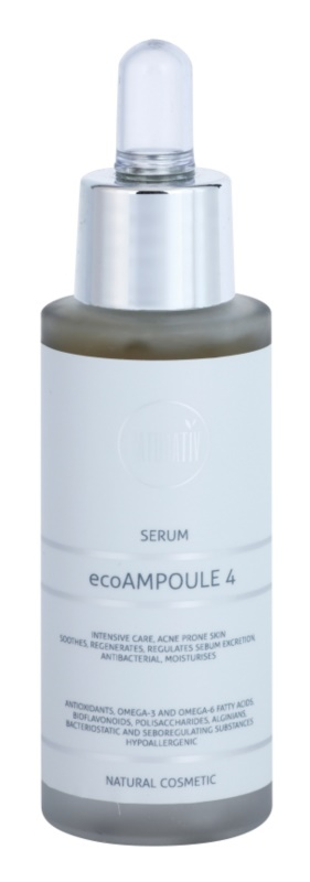 Naturativ Face Care ecoAmpoule 4 intenzivni serum za aknasto kožo