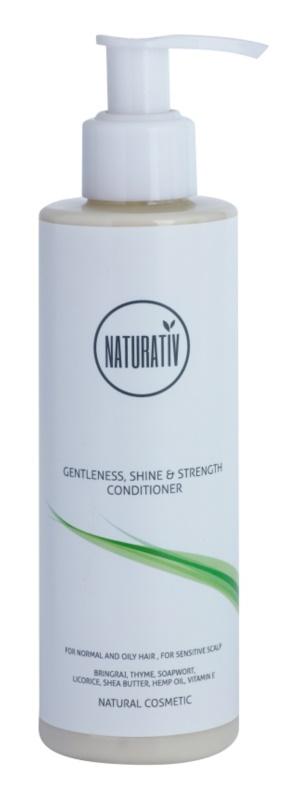 Naturativ Hair Care Getleness,Shine&Strength odżywka do skóry wrażliwej