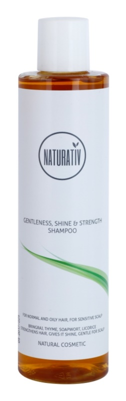 Naturativ Hair Care Getleness,Shine&Strength delikatny szampon do skóry wrażliwej