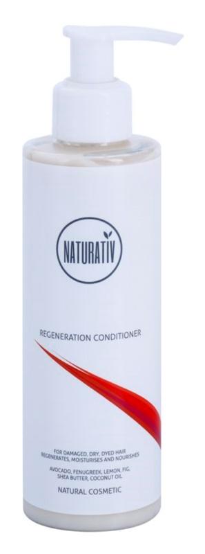 Naturativ Hair Care Regeneration łagodna odżywka do wzmocnienia włosów