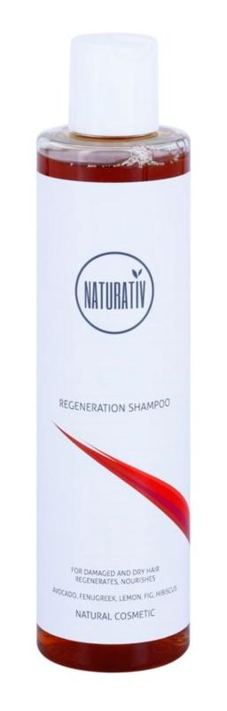 Naturativ Hair Care Regeneration champô para cabelos fortes