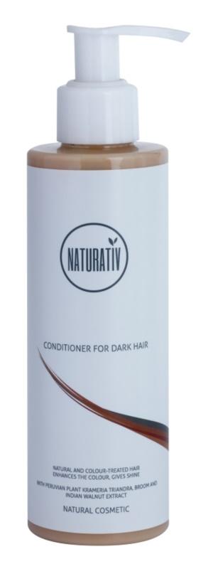 Naturativ Hair Care Dark balsam pentru a evidentia culoarea parului