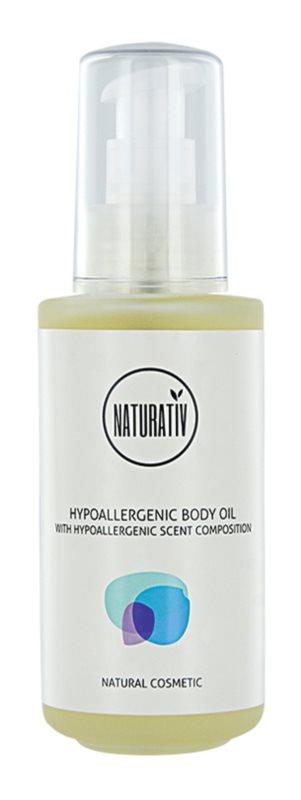 Naturativ Body Care Hypoallergenic Körper- und Massageöl mit feuchtigkeitsspendender Wirkung