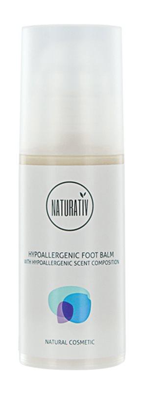 Naturativ Body Care Hypoallergenic bálsamo regenerador  para os pés gretados