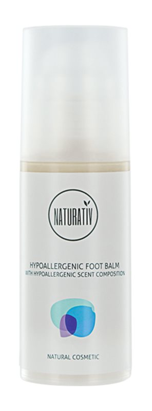 Naturativ Body Care Hypoallergenic Regenerating Balm for Cracked Feet