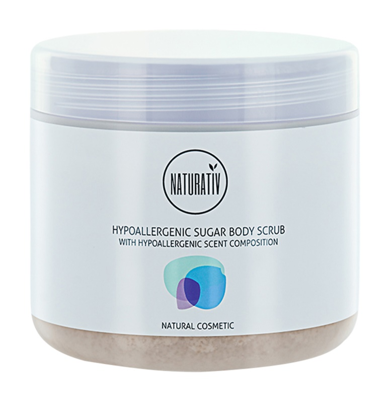 Naturativ Body Care Hypoallergenic peeling de açúcar para corpo