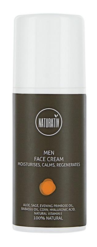 Naturativ Men  crema regeneradora con efecto humectante