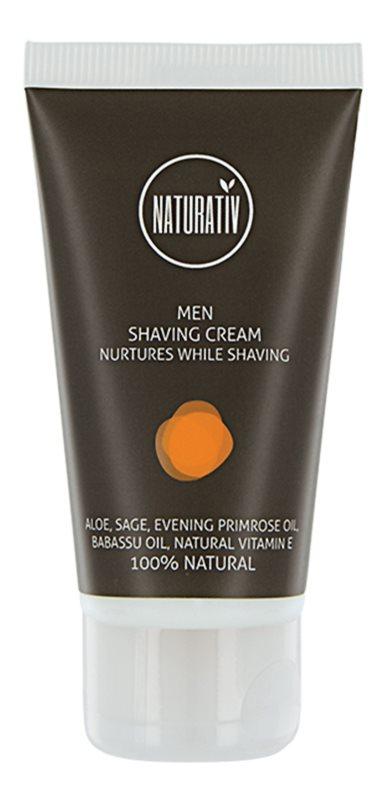 Naturativ Men  crema de afeitar
