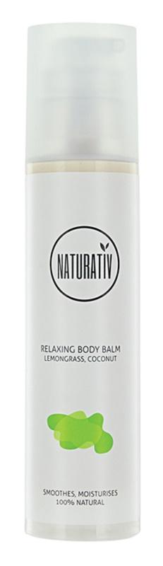 Naturativ Body Care Relaxing Körperbalsam mit feuchtigkeitsspendender Wirkung