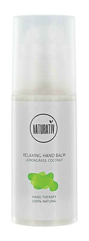 Naturativ Body Care Relaxing crema hidratante para manos