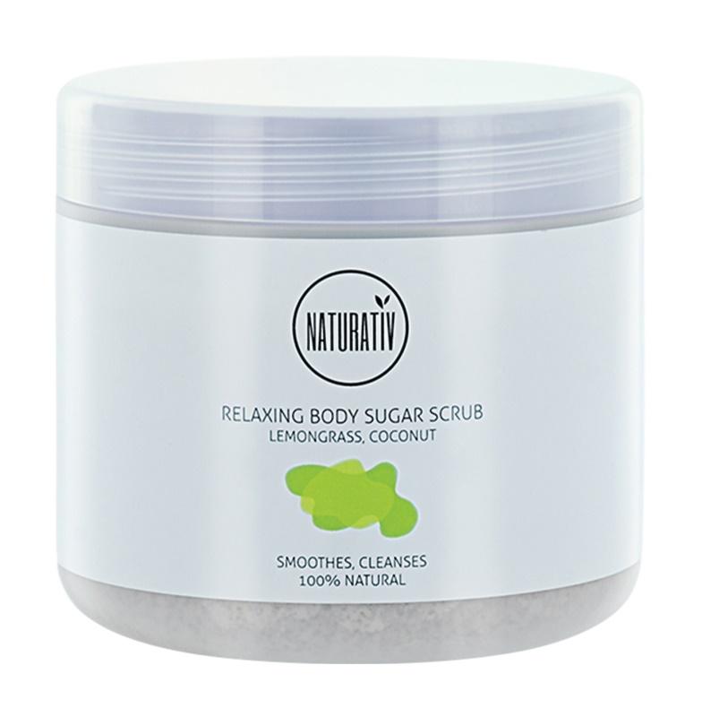 Naturativ Body Care Relaxing Zucker-Peeling für den Körper