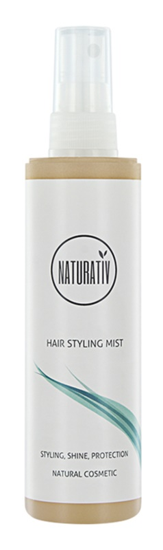 Naturativ Hair Care Shine&Protection meglica za gladitev in enostavno oblikovanje las