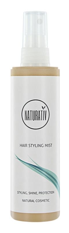 Naturativ Hair Care Shine&Protection Sprühnebel zum Glätten und problemlosen Stylen der Haare