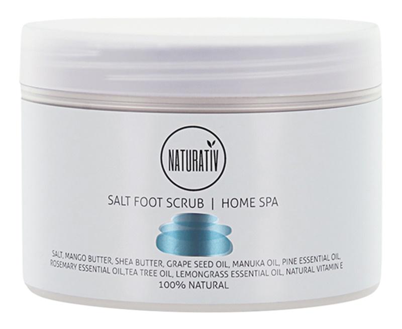 Naturativ Body Care Home Spa sal para peeling para pernas