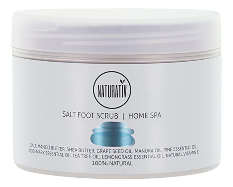 Naturativ Body Care Home Spa Salt Scrub For Legs