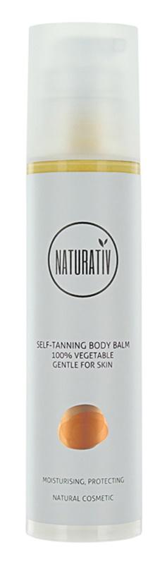 Naturativ Sun Care Sun Fun Bálsamo de autobronzeamento para corpo