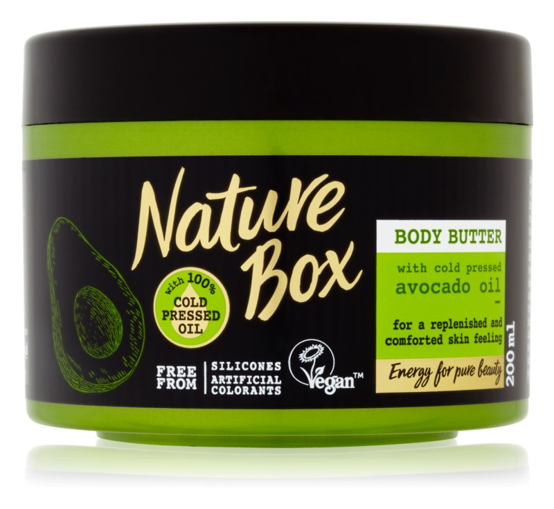 Nature Box Avocado поживне масло для тіла