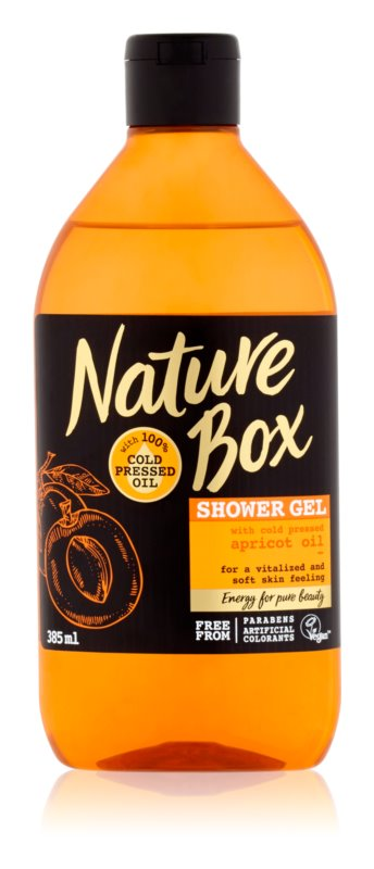 Nature Box Apricot gel de dus revitalizant