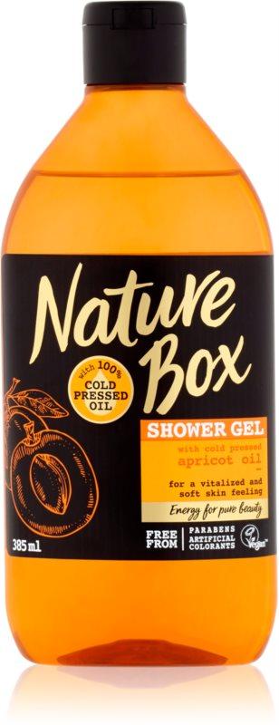 Nature Box Apricot revitalizačný sprchový gél