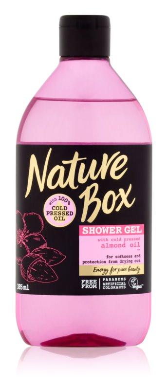 Nature Box Almond gel de dus relaxant impotriva uscarii pielii