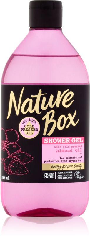 Nature Box Almond mehčalni gel za prhanje proti izsuševanju kože