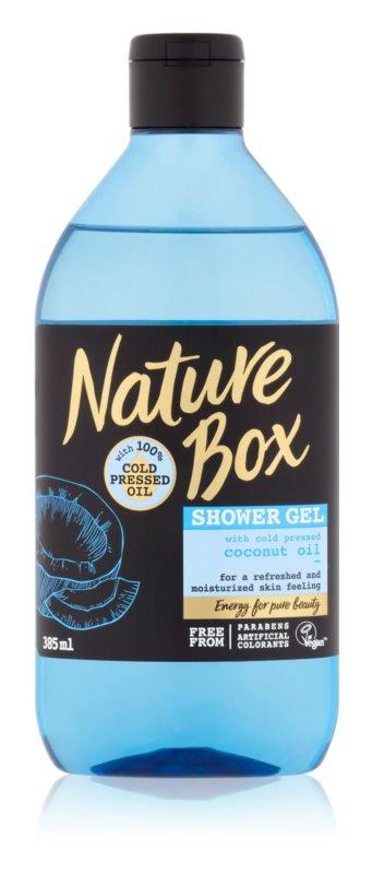 Nature Box Coconut osvežujoč gel za prhanje z vlažilnim učinkom