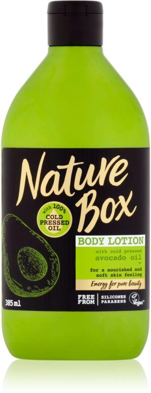 Nature Box Avocado vyživující tělové mléko