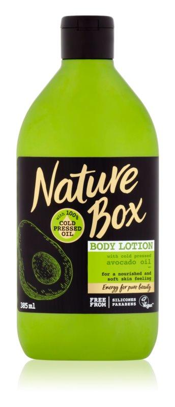 Nature Box Avocado поживне молочко для тіла