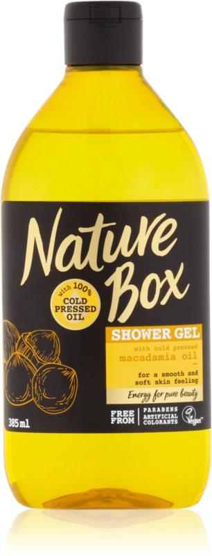 Nature Box Macadamia nežni gel za prhanje