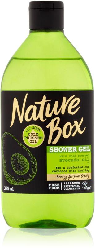 Nature Box Avocado gel calmant pentru dus