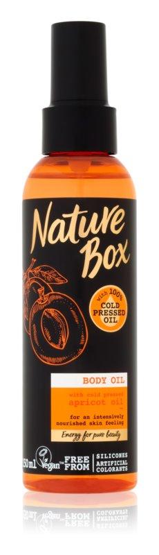 Nature Box Apricot інтенсивна поживна олійка для тіла