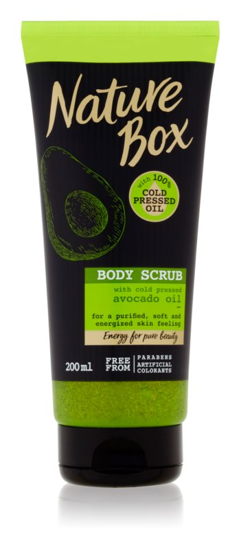 Nature Box Avocado Purifying  Body Peeling