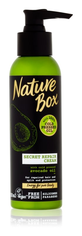Nature Box Avocado дълбоко възстановителен крем за цъфтяща коса