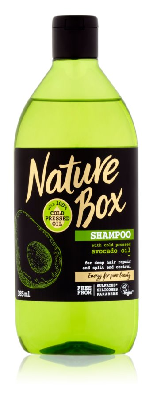 Nature Box Avocado Deeply Regenerating Shampoo for Split Hair Ends
