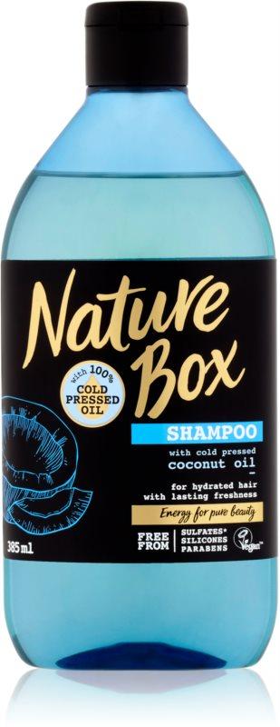 Nature Box Coconut osviežujúci šampón s hydratačným účinkom