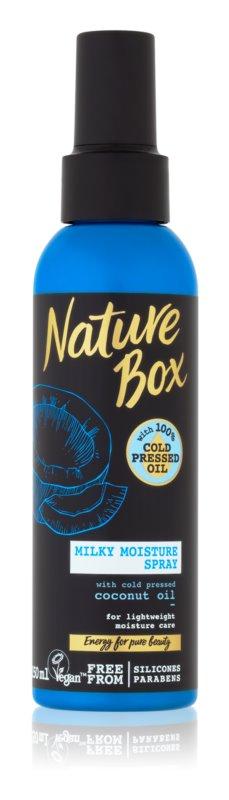 Nature Box Coconut hydratační sprej na vlasy