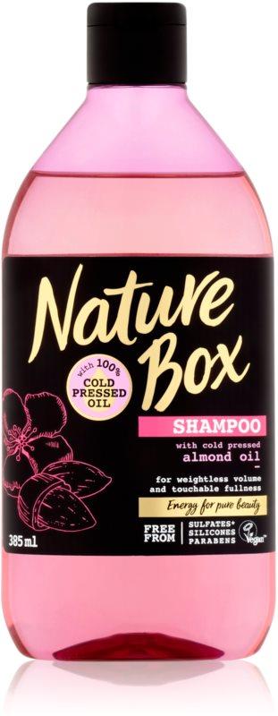 Nature Box Almond objemový šampón pre hustotu vlasov