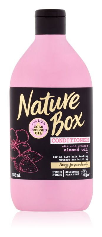 Nature Box Almond балсам за тънка коса без обем