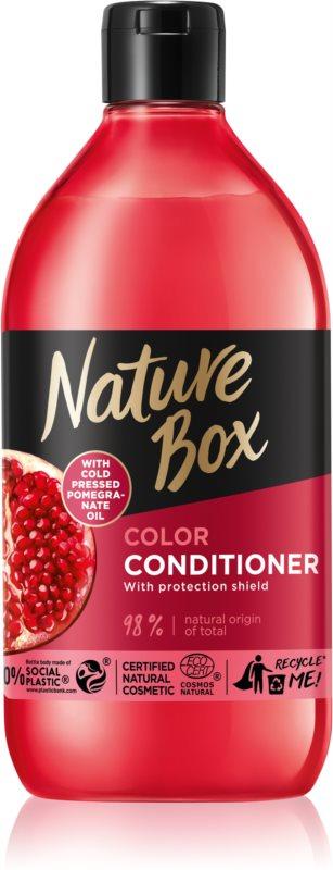 Nature Box Pomegranate globinsko hranilni balzam za zaščito barve